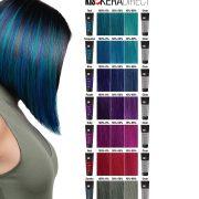 Прямые кератиновые красители для волос KIS KeraDirect (КИС КераДирект)