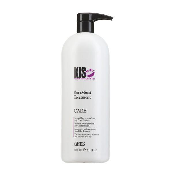 Кератиновая увлажняющая маска для волос KIS KeraMoist Treatment (КИС КераМойст Тритмент)