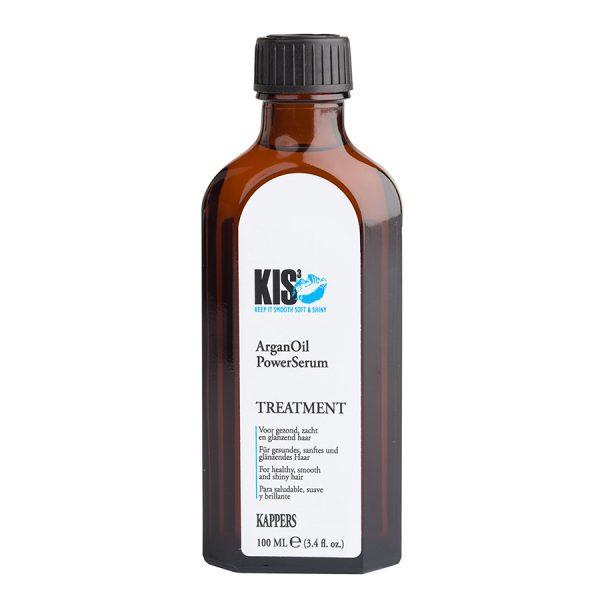 Кератиновый восстанавливающий эликсир для волос KIS ArganOil PowerSerum (КИС АрганОйл ПауэрСерум) на аргановом масле