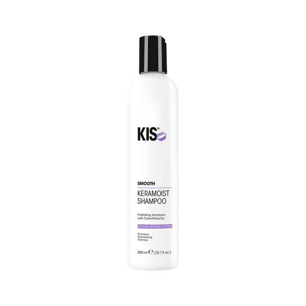 Кератиновый шампунь для сухих и ломких волос KIS KeraMoist Shampoo (КИС КераМойст)